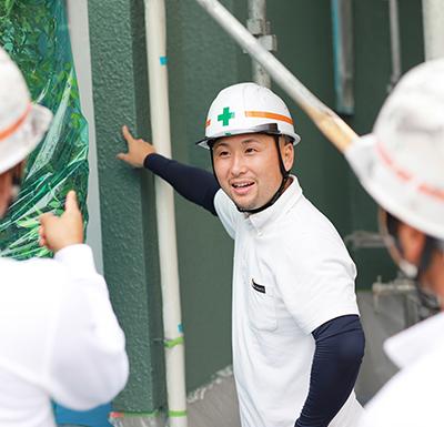 国家資格「一級塗装技能士」がすべての現場に関わる!
