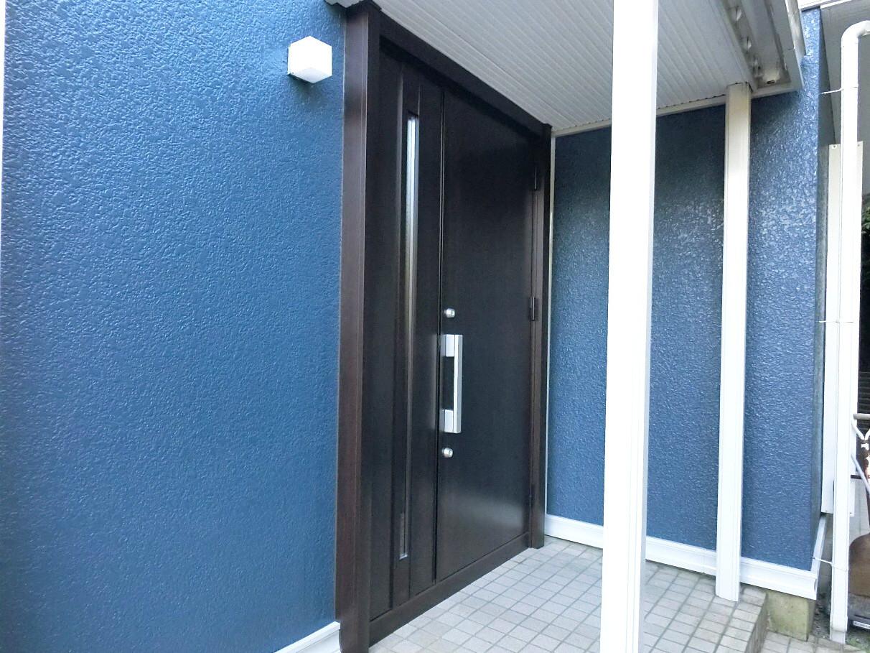 玄関扉リフォーム