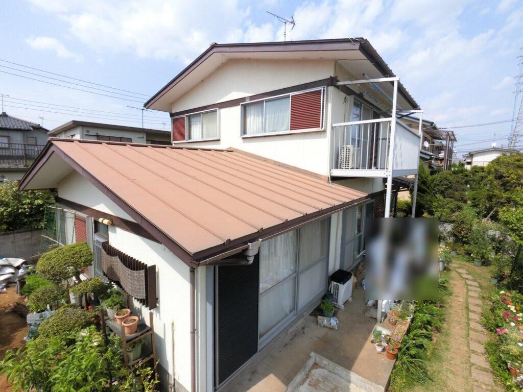 屋根・外壁塗装 施工前